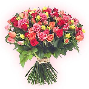 букет невесты, лилия, букет роз